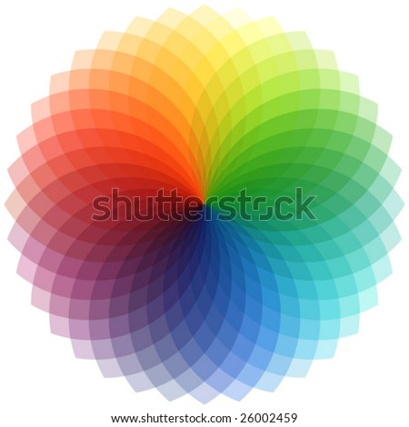 palette in vector