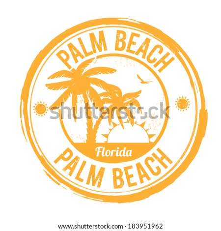 palm beach  florida grunge