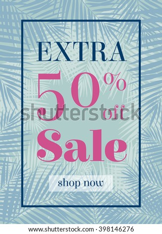 palm leaf extra sale up to 50