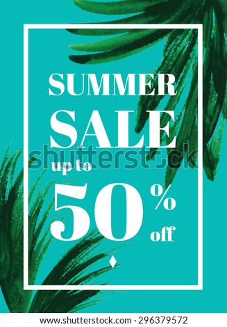palm leaf summer sale up to 50