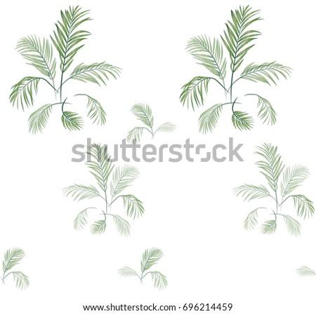 palm tree pattern 01