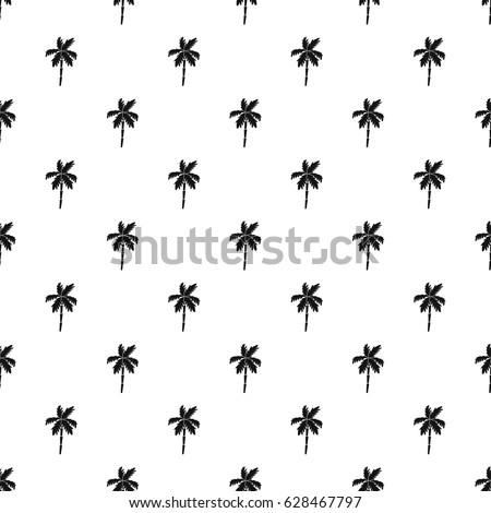 palm tree pattern seamless in