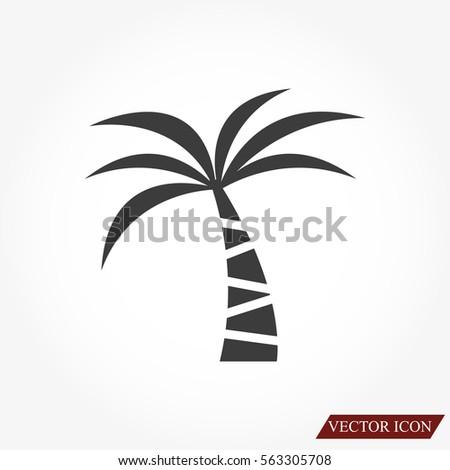 Palm vector icon
