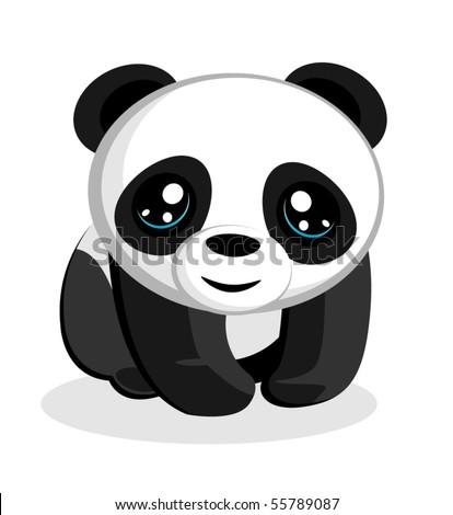Panda Bear Vector Illustration