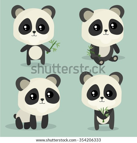 panda chinese panda bear cute