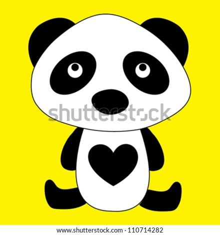 panda / T-shirt graphics / cute cartoon characters / cute graphics for kids / Book illustrations