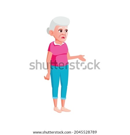 panic old woman lost in town