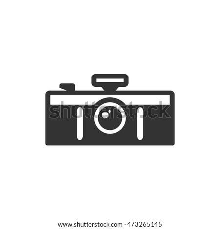 panorama camera icon in single