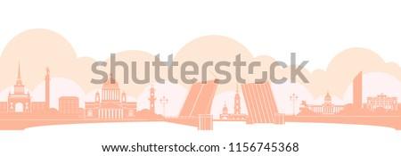 panorama of saint petersburg