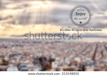 panoramic view of athens from