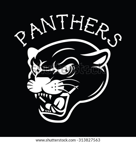 panther head mascot