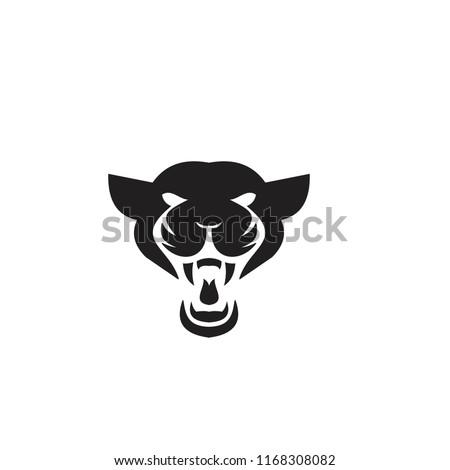panther logo icon designs