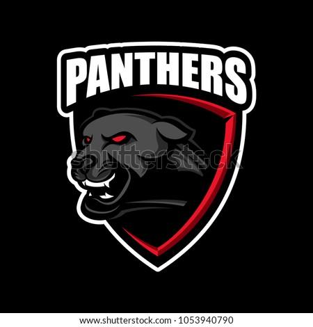 Panthers sport logo