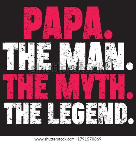 papa t shirt design you can