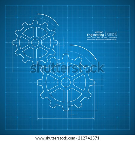 paper blueprint background