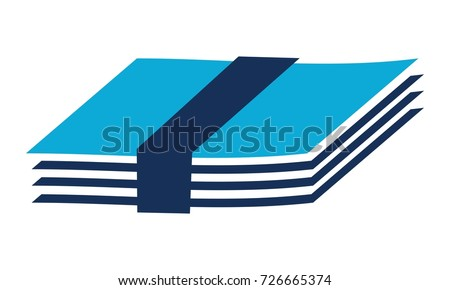 Paper bundle Logo