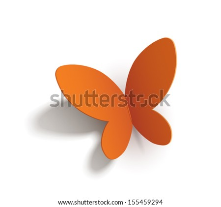 paper butterfly  transparent