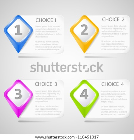 Paper choice pointers