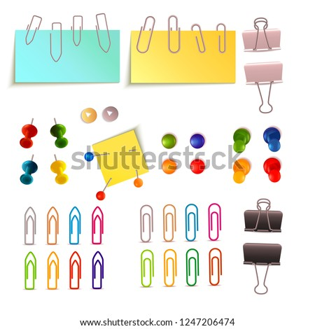 Paper Clip And Pin Set