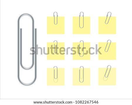 Paper Clip (Vector)