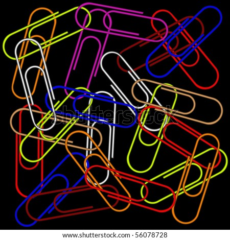 stock-vector-paper-clips-on-black-background-abstract-vector-art-illustration-56078728.jpg