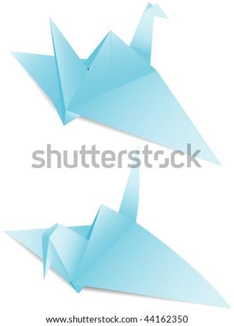 Paper crane symbolism