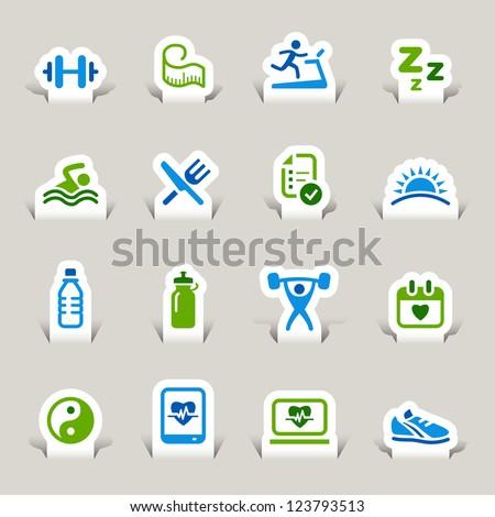 Heart and Health Care Symbols