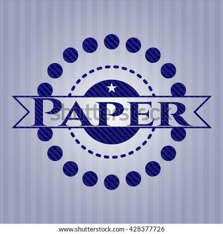 Paper denim background