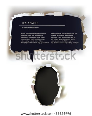 paper face template with bubble