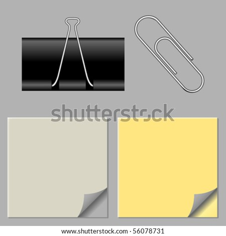 stock-vector-paper-notes-and-clips-abstract-vector-art-illustration-56078731.jpg