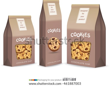 paper packaging for cookie