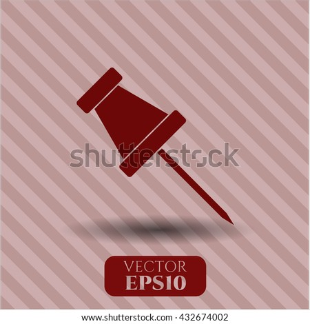 Paper Pin icon or symbol