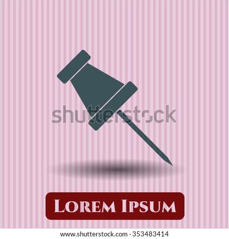 Paper Pin symbol