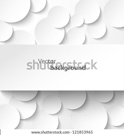 paper rectangle banner on