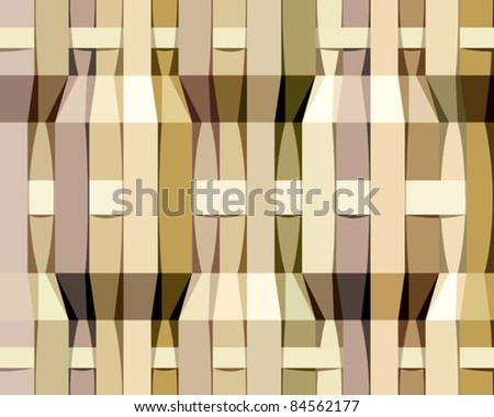 Paper stripes seamless pattern, vector background.