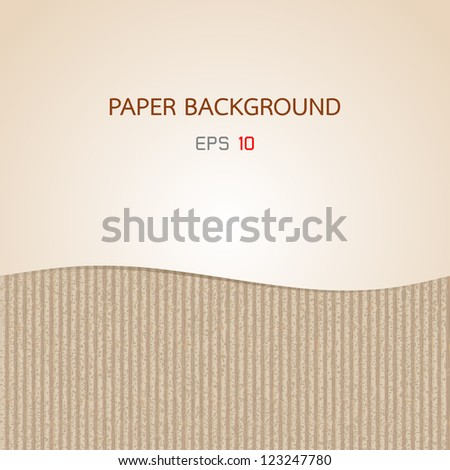Paper Two Texture background - stock vector