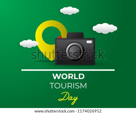 paper world tourism day tourism day illustration world tourism day vector design