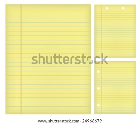 Papers - stock vector