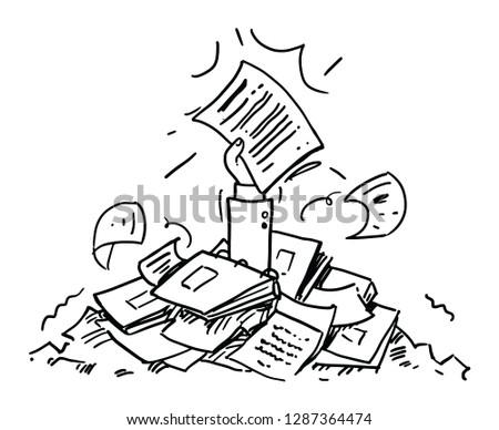 Bookkeeping Vector Illustration