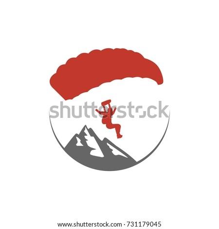 parachuting  hang gliding