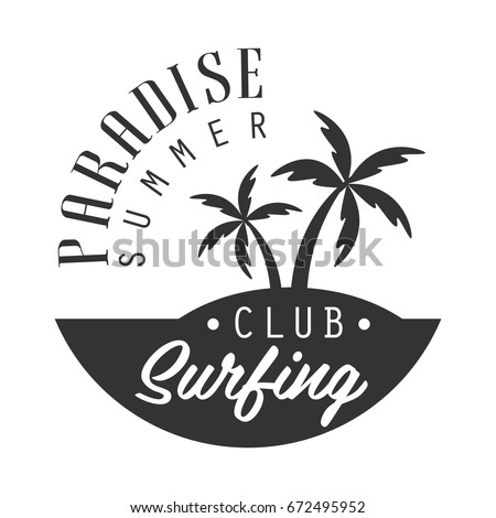 paradise summer  surfing club