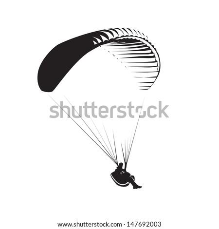 paragliding theme  parachute