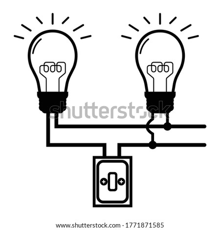 Parallel Circuit of electricity, Sample for circuit education