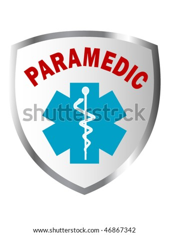 Paramedic shield sign