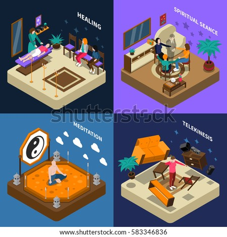paranormal abilities isometric