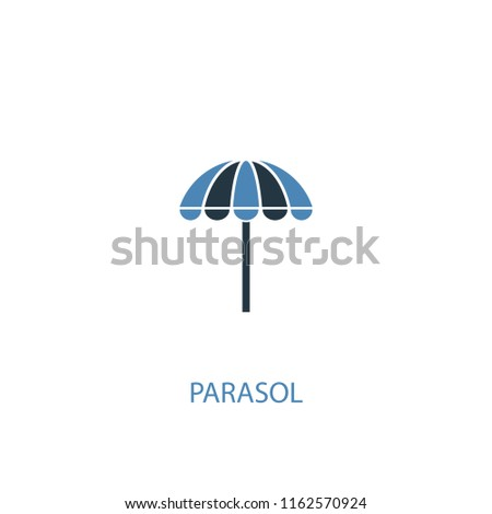 parasol concept 2 colored icon