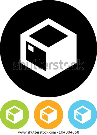 Parcel package - Vector icon isolated