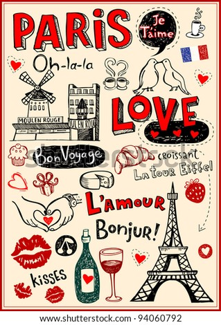 ShutterStock Paris a city of love and romanticism 94060792