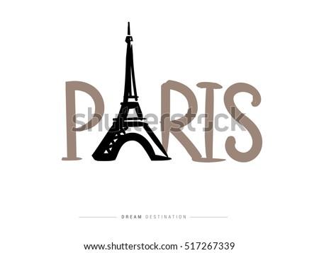 paris icons design travel