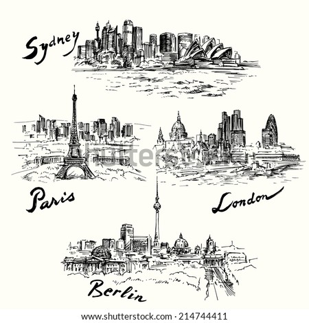 paris  london  berlin  sydney